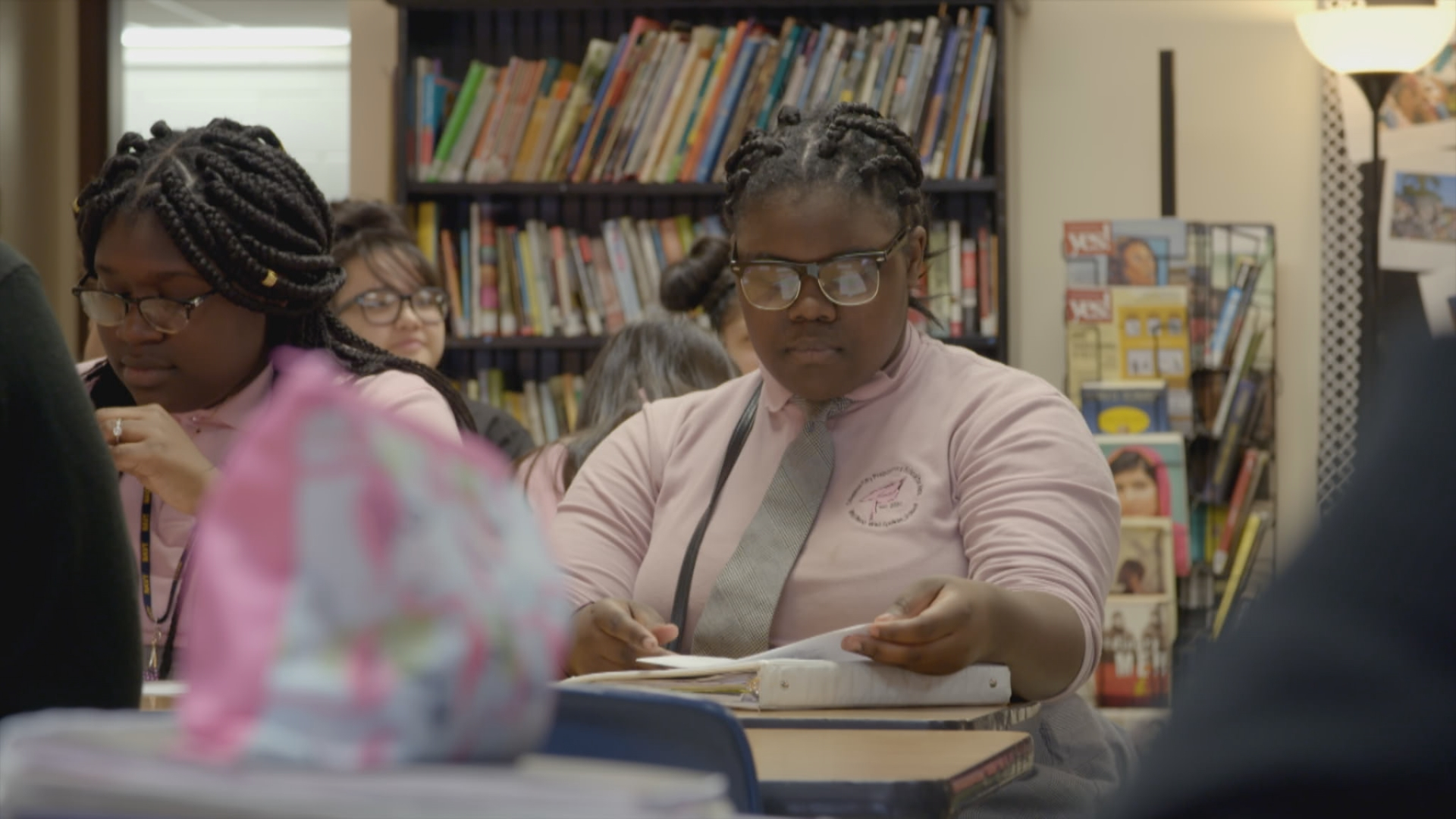 Pushout, based on the widely acclaimed book by Monique W. Morris, on confronts the ways in which the misunderstanding of Black girlhood has led to excessive punitive discipline which in turn disrupts one of the most important factors in their lives: their education.
